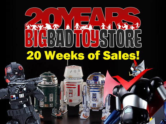 BIGBADTOYSTORE 20TH ANNIVERSARY 20 WEEKS OF SALES