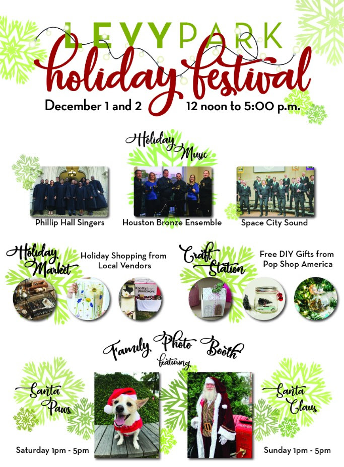 Holiday Festival at Levy Park @ Levy Park