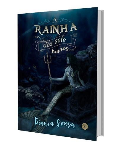 capa do livro a rainha dos 7 mares