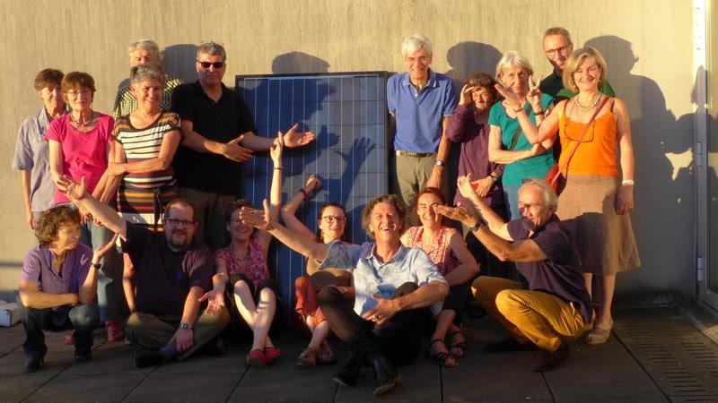 En juin 2018, des citoyens ont fondé la coopérative Électrons Solaires