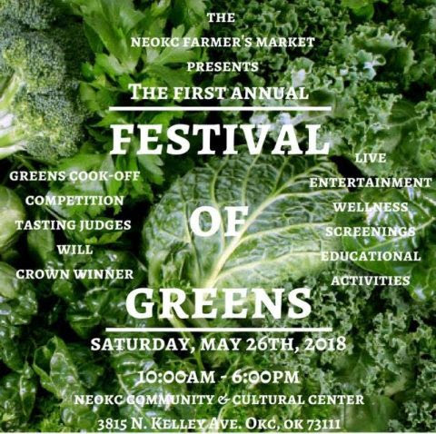 NE OKC Farmers Market Festival of Greens
