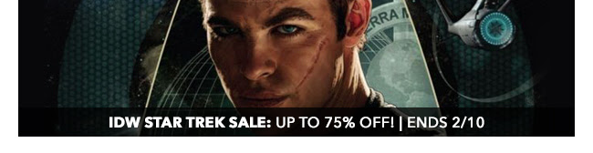 IDW Star Trek Sale: up to 75% off! | Ends 2/10