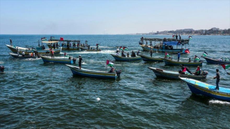 Israel intercepta un barco palestino que intentó romper el bloqueo de Gaza