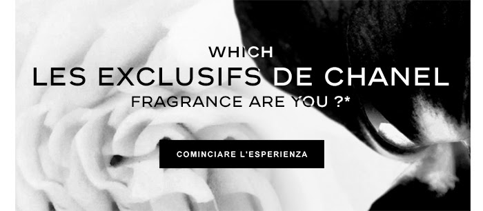 WHICH LES EXCLUSIFS DE CHANEL FRAGRANCE ARE YOU ?*