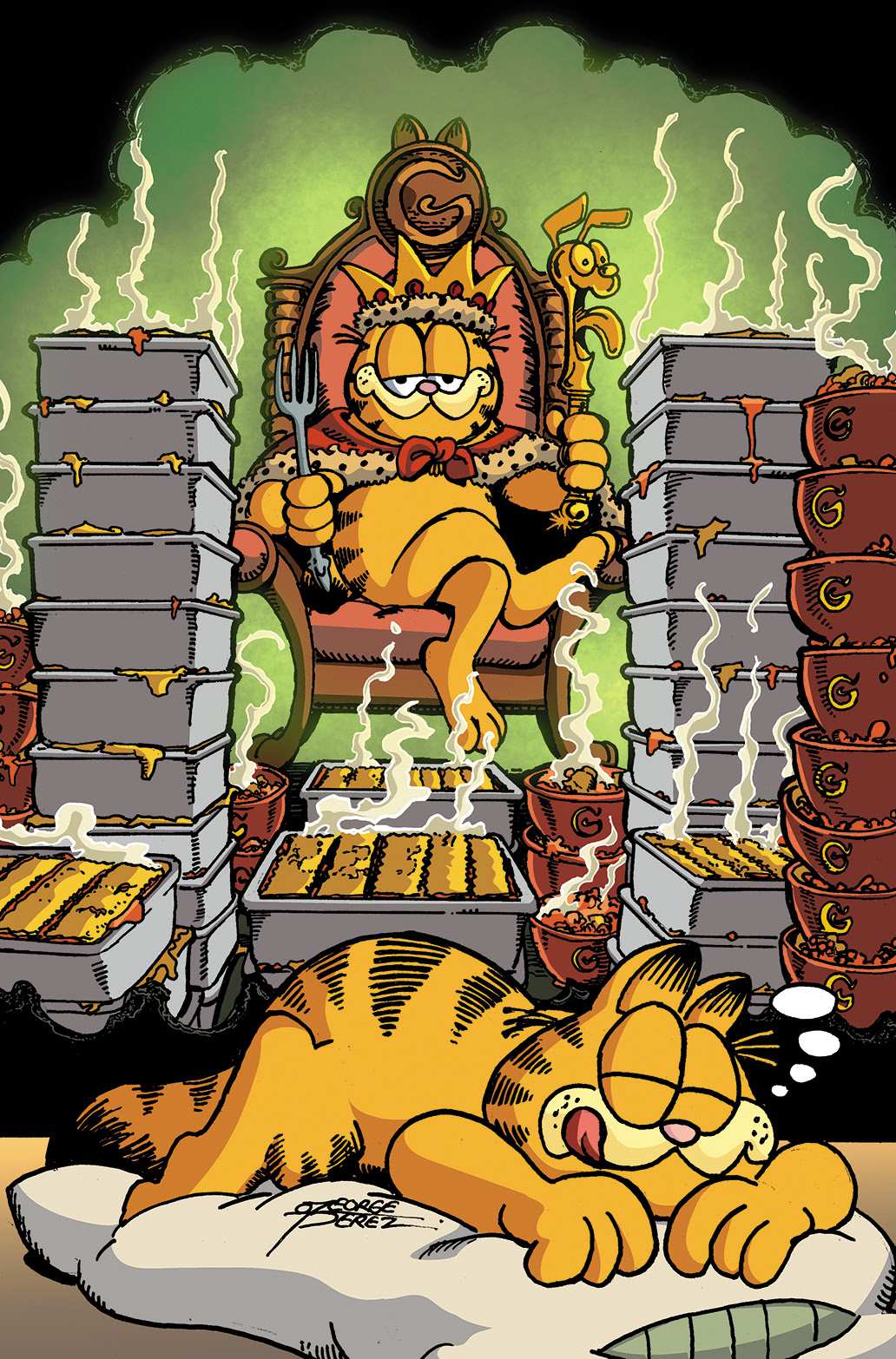 GARFIELD #25 Cover B by George Pérez