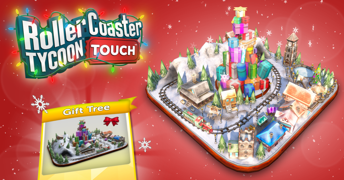 Deck the Halls and Roller Coasters With Holiday Cheer in