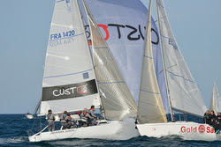 J/80 sailing Saint Cast, France