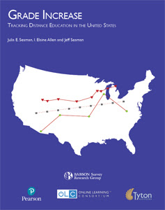 Babson Annual Report - Grade Increase - Tracking Distance Education in the United States