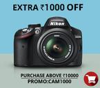 Upto Rs 2000 off on Camera