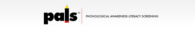 PALS - phonological awareness literacy screening logo