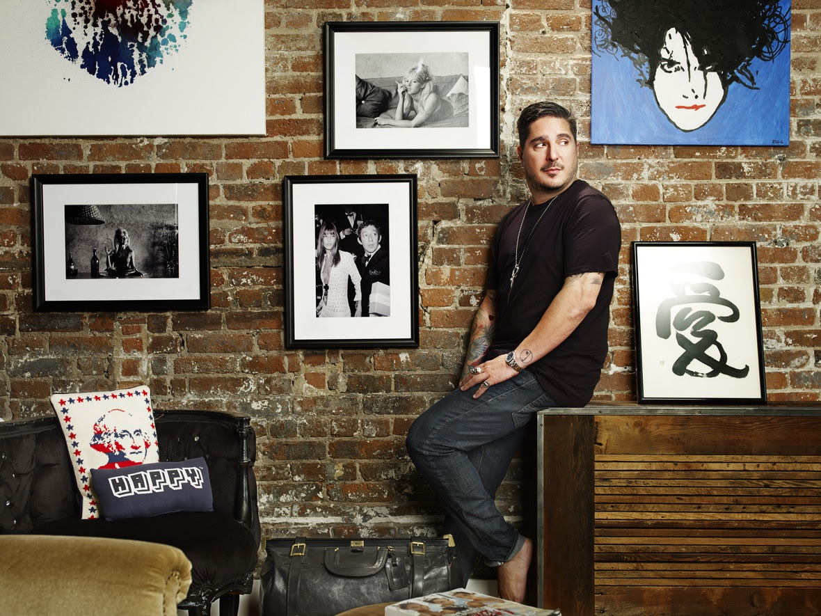 Anthony Bozza Art wall-1