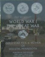 Duluth Memorial detail