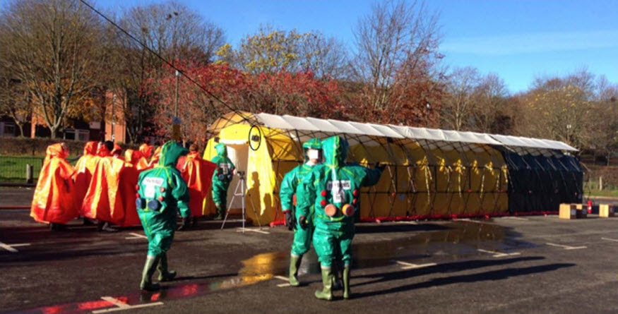Image of emergency medical personnel
