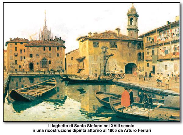 Arturo Ferrari, Il laghetto di Santo Stefano