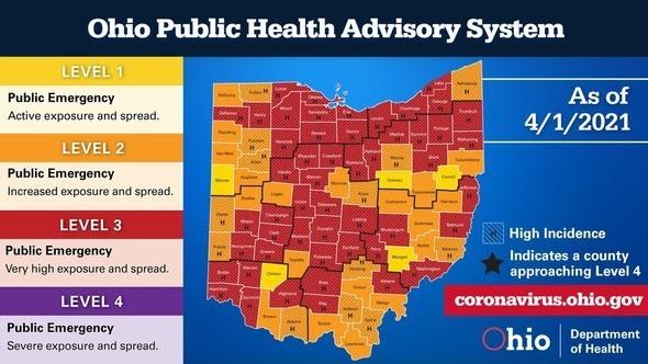 Ohio Public Health Advisory System 4.1.21