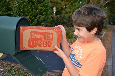 Who doesn't love getting packages in the mail? A Groovy Lab in a Box monthly subscription sends kids fun and educational STEM projects every month.