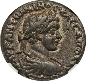 SICILY. Gela. Ca. 480-470 BC. AR tetradrachm (24mm, 17.12 gm, 4h). NGC Choice VF 5/5 - 4/5
