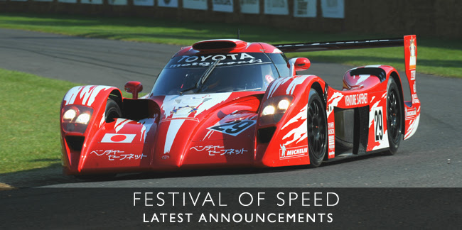 Festival of Speed 2014 - Latest Annoucements