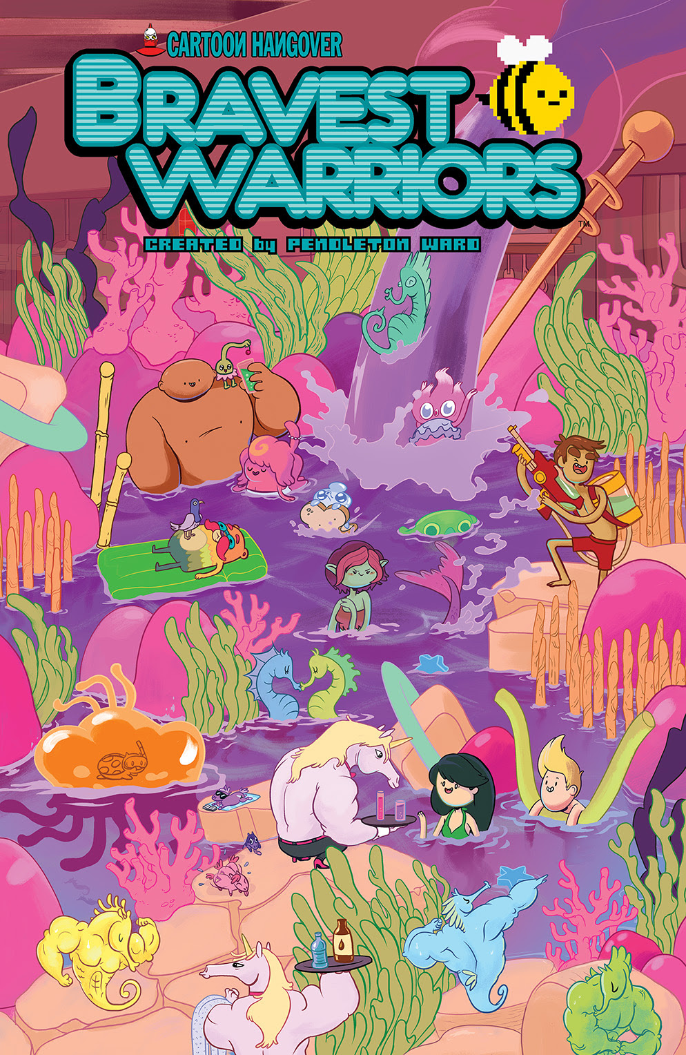 BRAVEST WARRIORS #23 Cover A by Tara Helfer