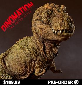 Tyrannosaurus Dinomation Statue