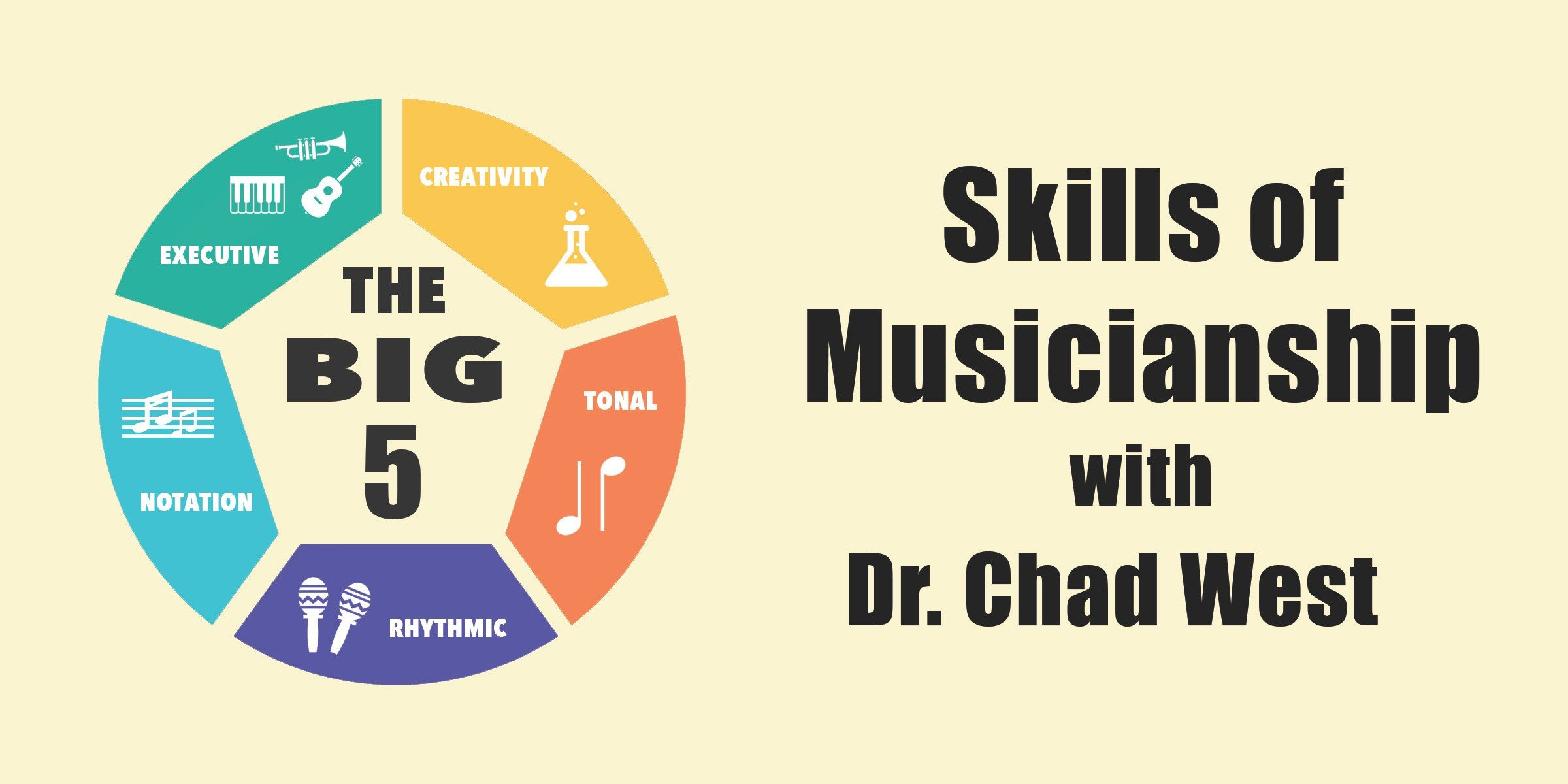 """The """"Big 5"""" Skills of Modern Musicianship, with Dr. Chad West (Interview)"""
