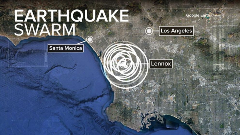 A 6.0 magnitude earthquake hit near the California-Nevada border