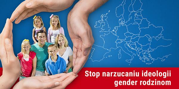 Stop narzucaniu ideologii gender rodzinom
