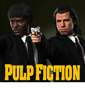 PULP FICTION 1/6 SCALE FIGURES