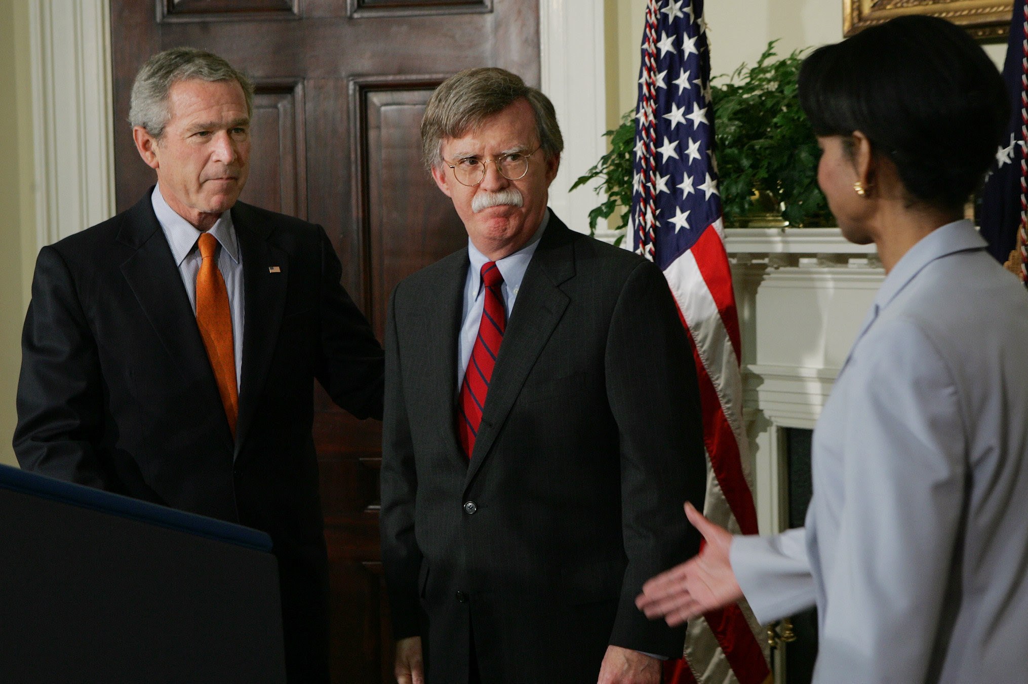 President George W. Bush appointed Mr. Bolton during a congressional recess in August 2005.