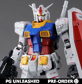 Gundam PG Unleashed 1/60 RX-78-2 Gundam Model Kit