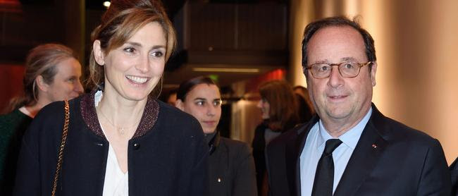 Julie Gayet et François Hollande, un couple très secret