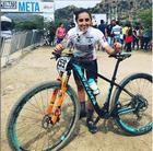 Giuliana Salvini Morgen é bicampeã pan-americana de Mountain Bike (Divulgação)