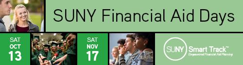 SUNY Financial Aid Days