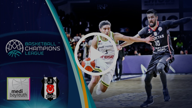 medi Bayreuth v Besiktas Sompo Japan - Highlights - RD. of 16 - Basketball Champions League 2017-18