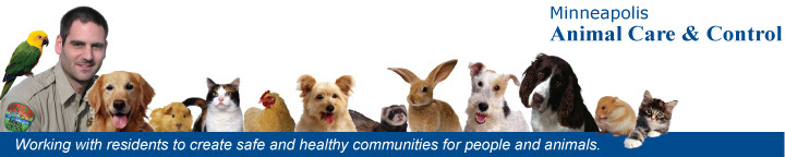 Minneapolis Animal Care & Control: Working with residents to create safe and healthy communities for people and animals.