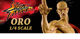 STREET FIGHTER ORO STATUE