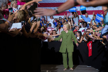 Hillary Clinton, at a rally on Friday in Tampa, Fla., is set to become the Democratic presidential nominee at the party's convention in Philadelphia.
