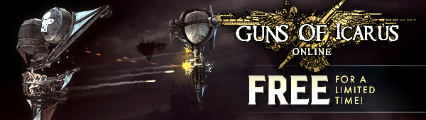Get Guns of Icarus Online FREE for 48 Hours