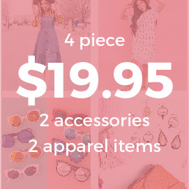 Grab Bag- 4 Piece $19.95 & FREE SHIPPING