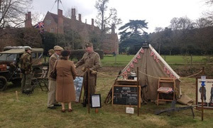 Mapledurham at War