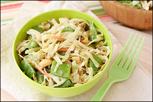Hungry Girl's Asian Peanut Slaw
