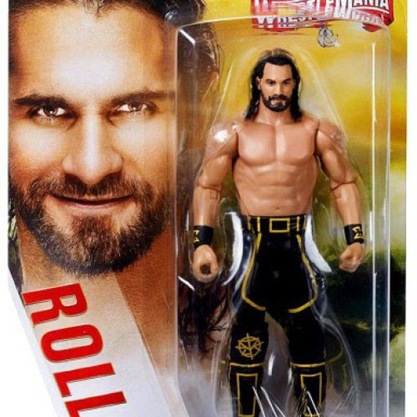 Image of WWE Wrestlemania Basic Action Figure Series - Seth Rollins (Wrestlemania 35)
