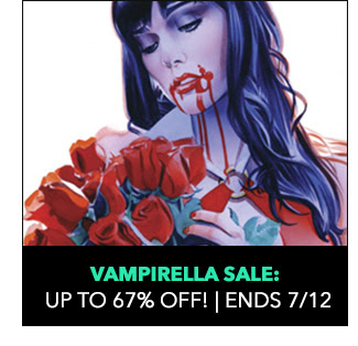 Vampirella Sale: up to 67% off! Sale ends 7/12.