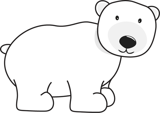 Image result for polar bear clipart cute