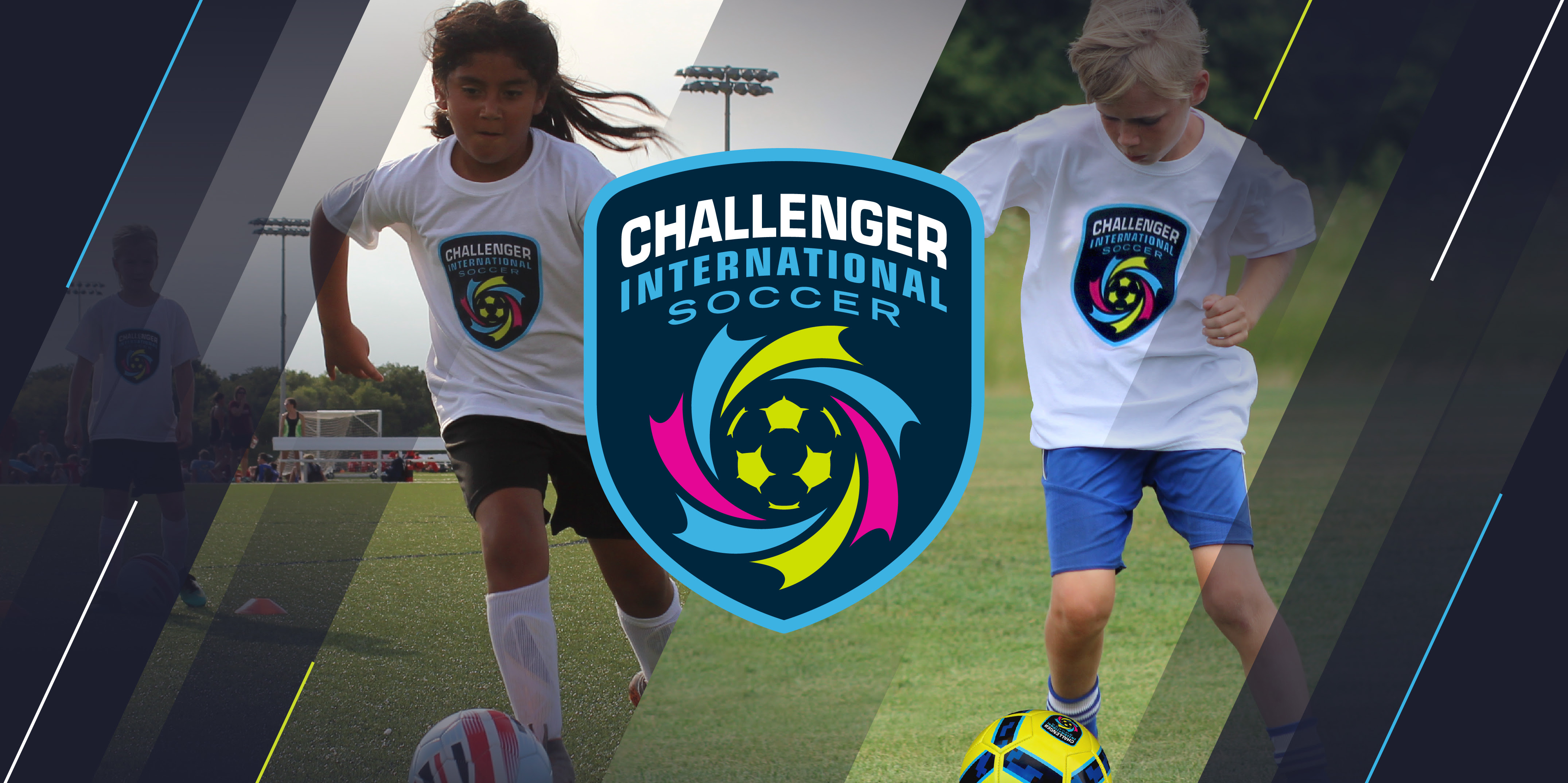 Challenger International Soccer Banner