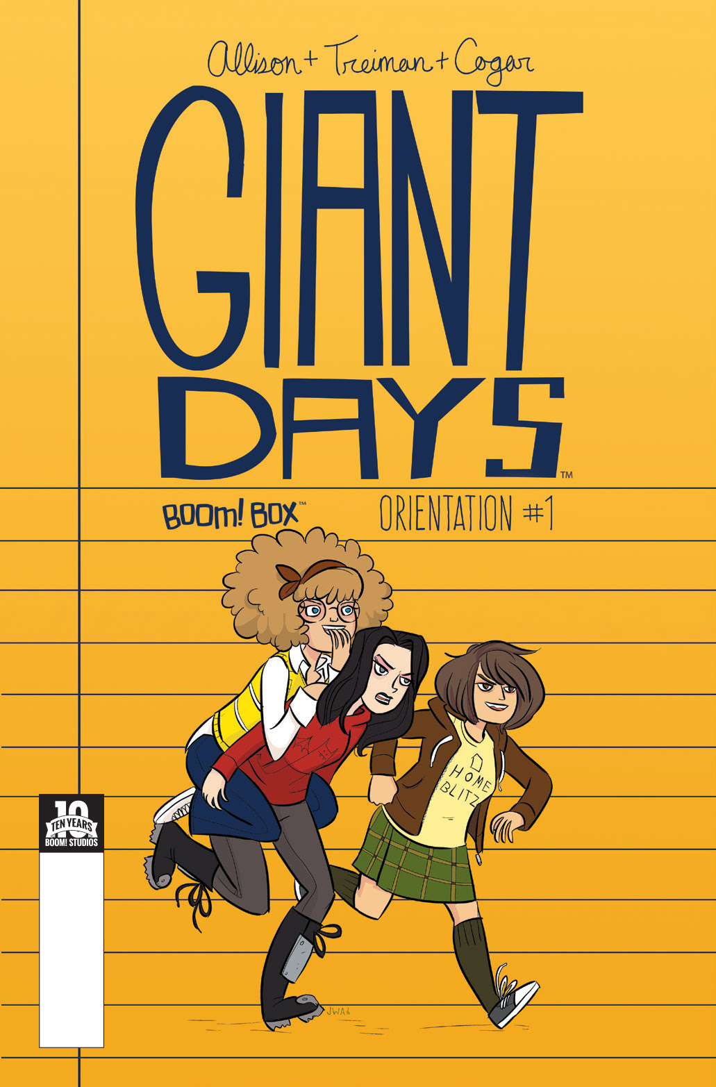 Giant Days: Orientation Edition Cover by John Allison