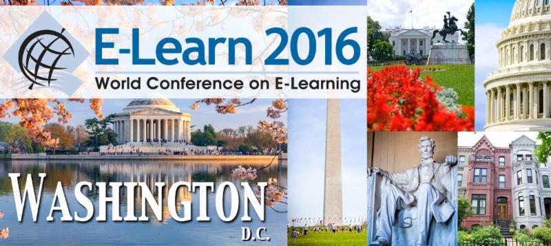 e-elearn 2016 DC logo