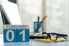 February 1 Calendar Image