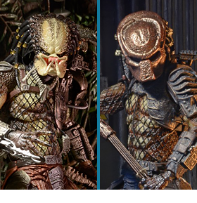 NECA PREDATOR ULTIMATE CITY HUNTER & JUNGLE HUNTER FIGURES