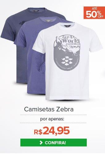 Camisetas Zebra
